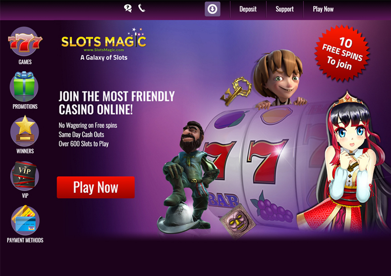 Slots Magic Games