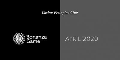Latest Bonanza Game Casino no deposit bonus April 2020