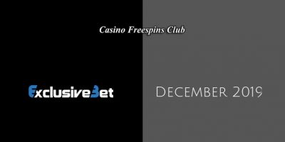 Latest ExclusiveBet no deposit bonus, today 9th of December 2019