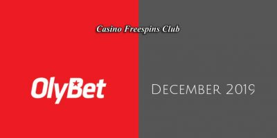 Latest Olybet no deposit bonus- 8th of December 2019