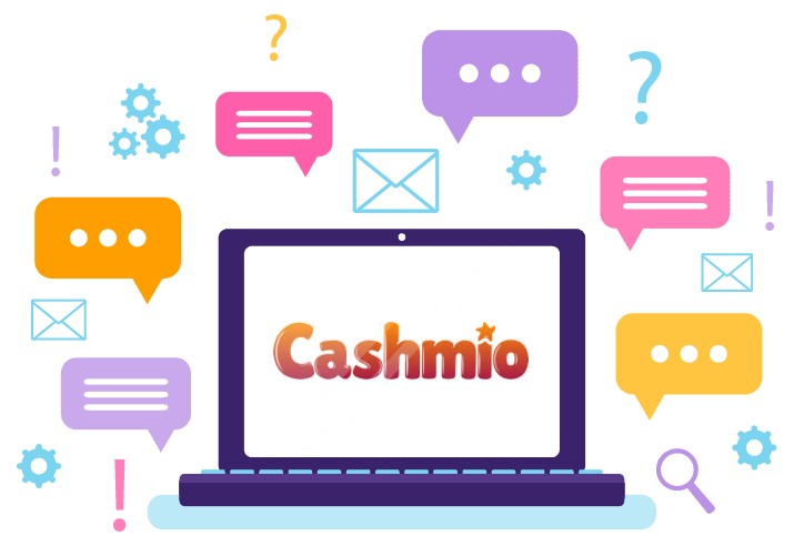 Cashmio Casino - Support
