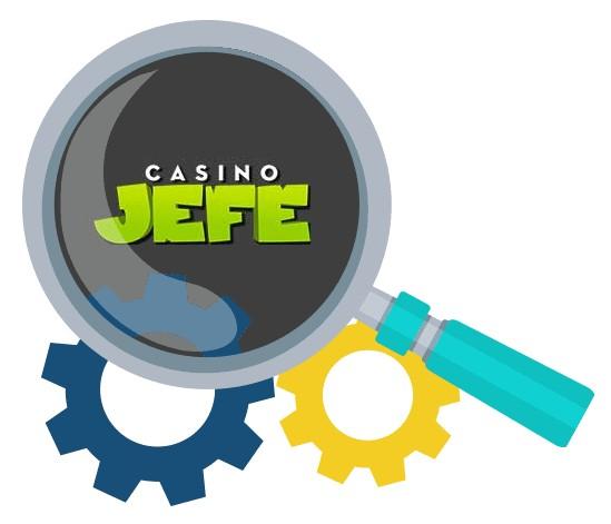 Casino Jefe - Software
