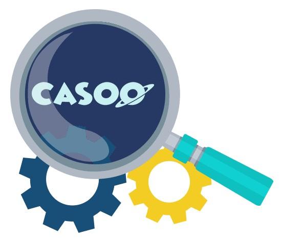 Casoo Casino - Software