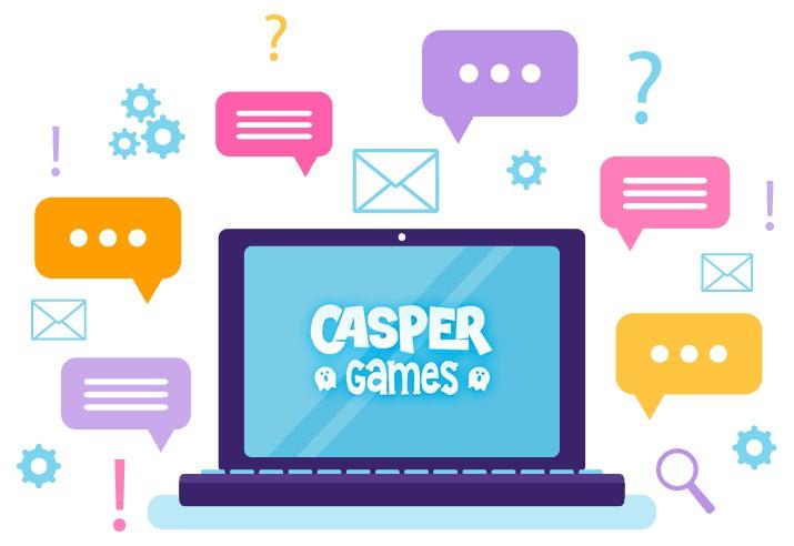 Casper Games - Support