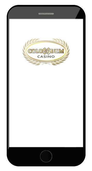 Colosseum Casino - Mobile friendly