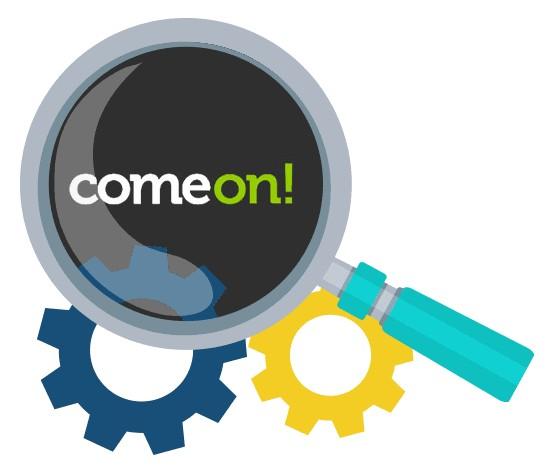 Comeon Casino - Software