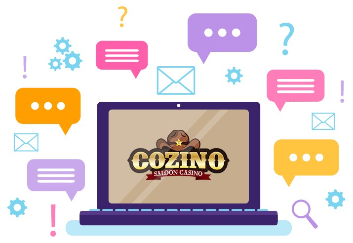Cozino Casino - Support