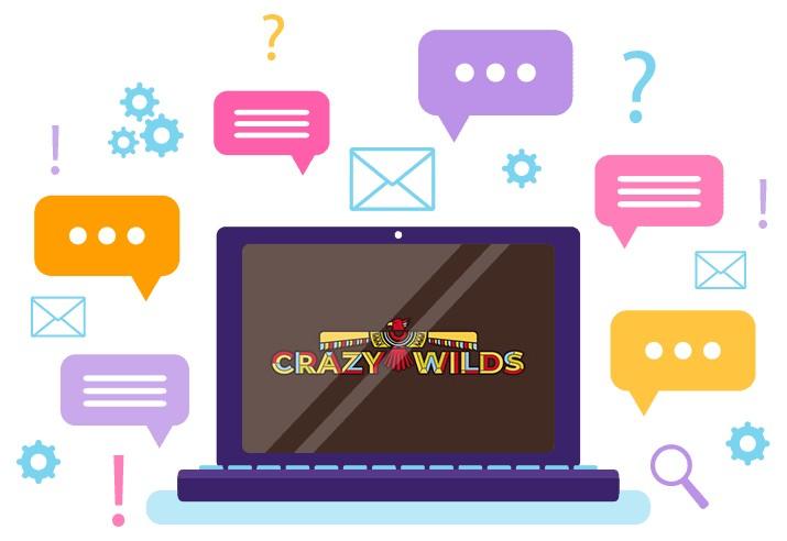 Crazy Wilds - Support