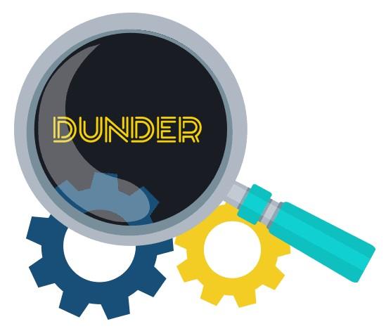 Dunder Casino - Software