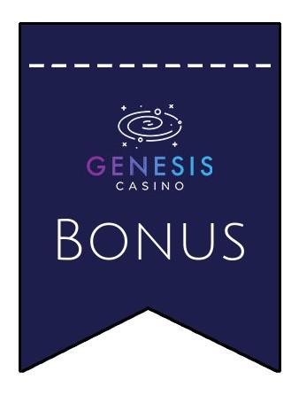 Latest bonus spins from Genesis Casino