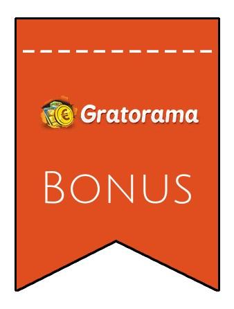 Latest bonus spins from Gratorama Casino