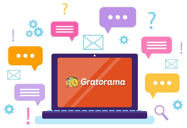 Gratorama Casino - Support