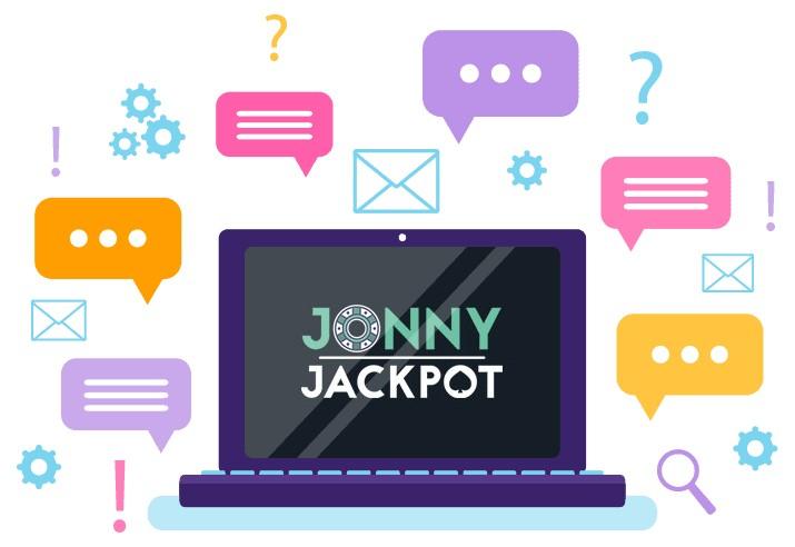 Jonny Jackpot Casino - Support