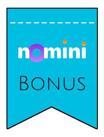 Latest bonus spins from Nomini
