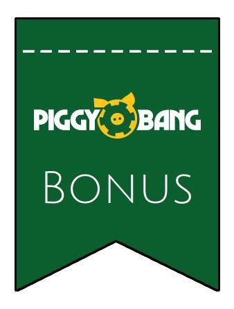 Latest bonus spins from Piggy Bang