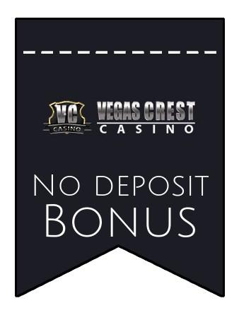 Vegas Crest Casino - no deposit bonus CR