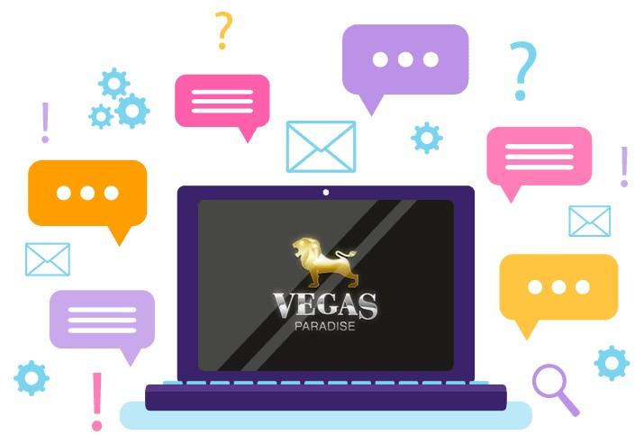 Vegas Paradise Casino - Support