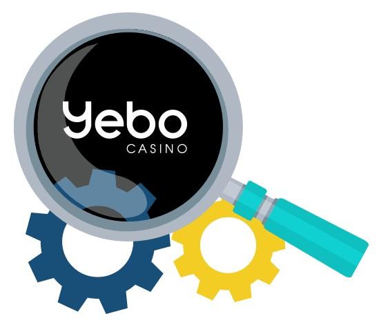 Yebo Casino - Software