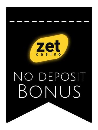 Zet Casino - no deposit bonus CR